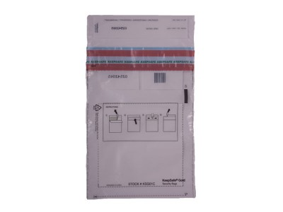 Clear One Time Security Envelopes