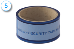 Label Lock Security Tape 5
