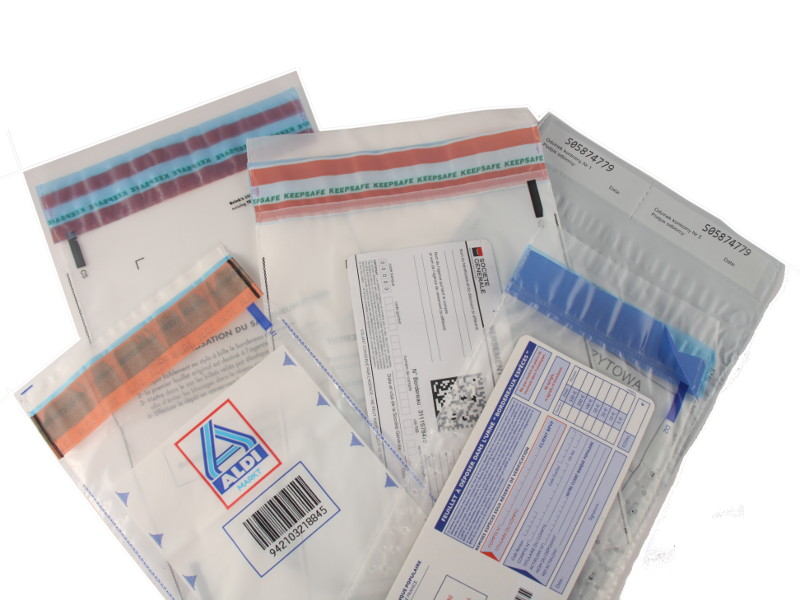 Label Lock™ Specialist Bags and Envelopes