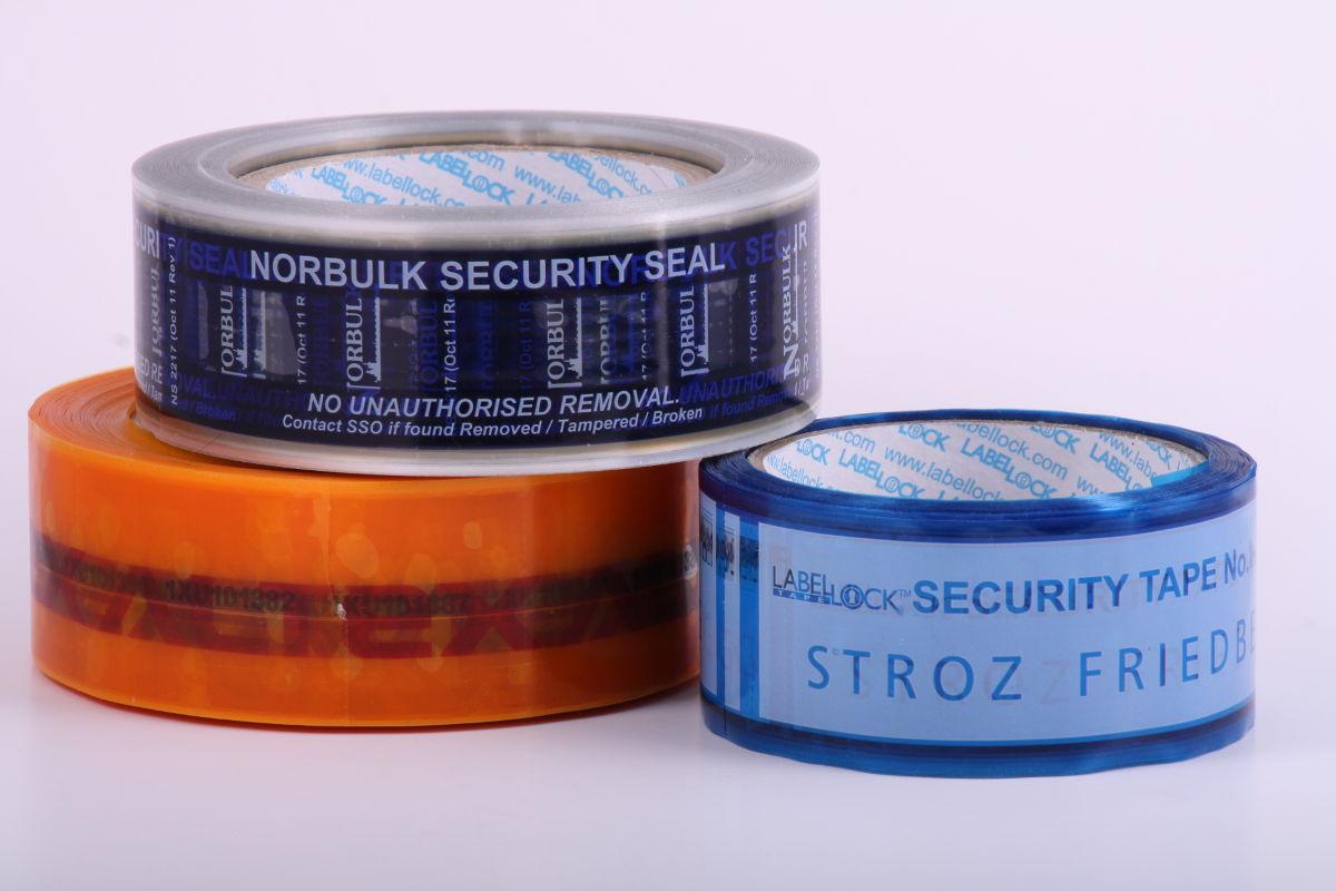 Custom Security Tape