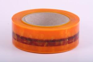 Label Lock Custom Security Tape - orange