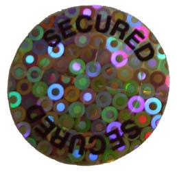 circular stock hologram