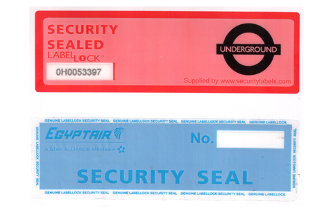 Custom No Residue Security Labels
