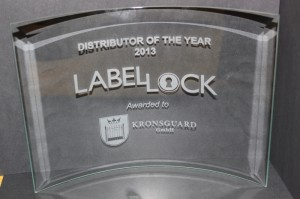 LabelLock Award winner 2013